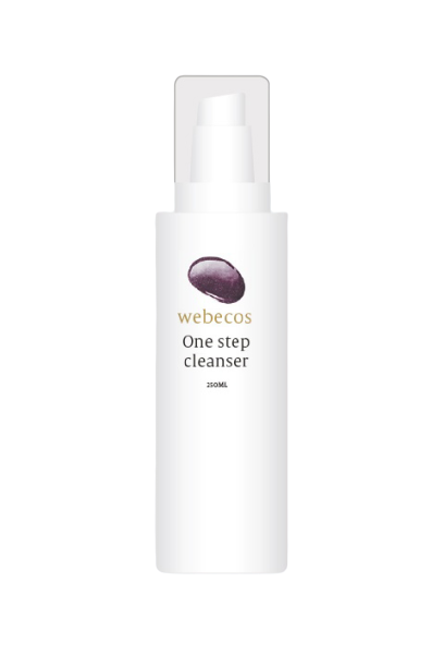 Webecos one step cleanser