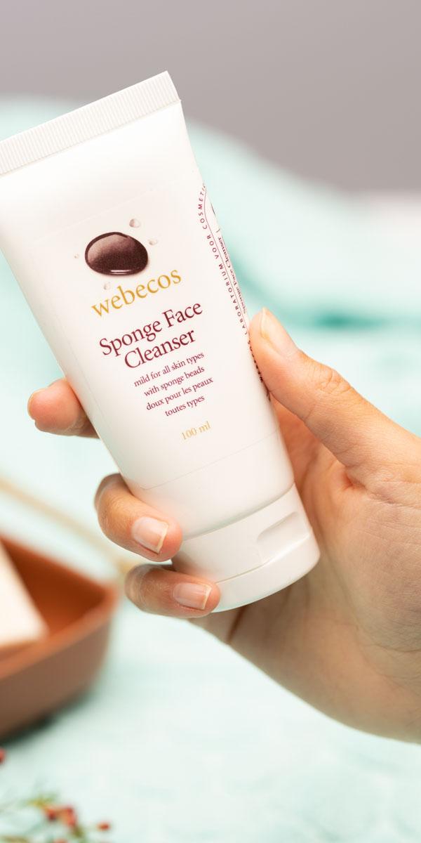 Webecos Sponge Face Cleanser