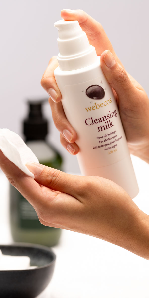 Webecos Cleansing Milk